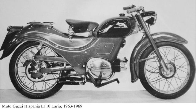 Moto Guzzi Hipania Lario L110