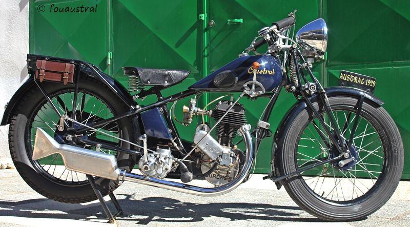 moto Austral type V 1929
