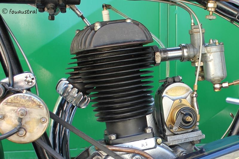 motor Zurcher, moto Austral 1929