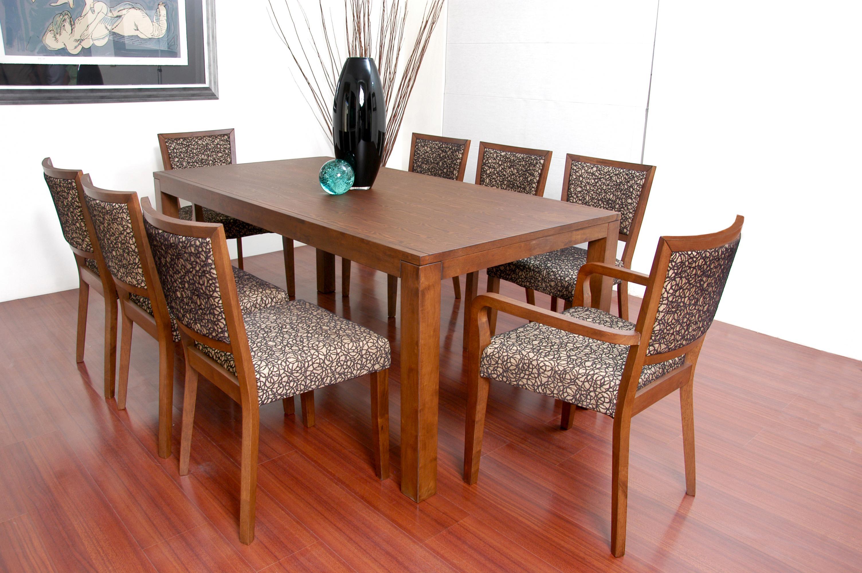 Antecomedor florencia for Comedor 8 sillas madera