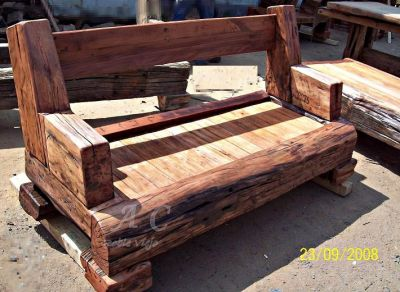 Roble viejo sillones for Sillones rusticos para living