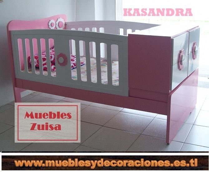 MUEBLES ZUISA - CAMA CUNAS