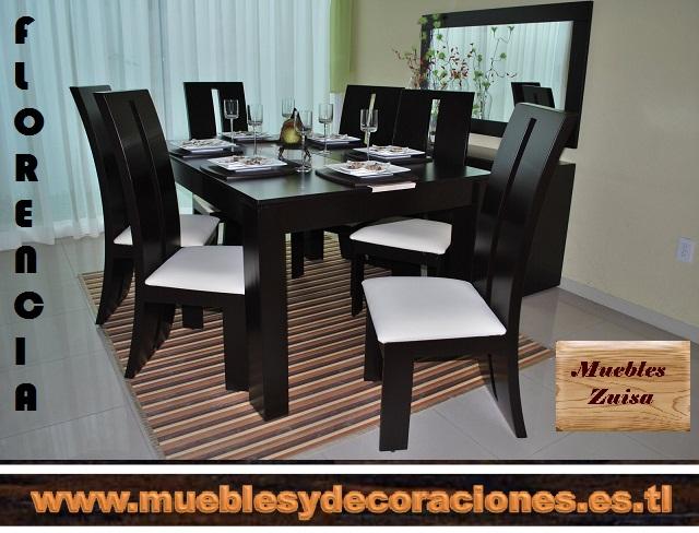 MUEBLES ZUISA - COMEDORES