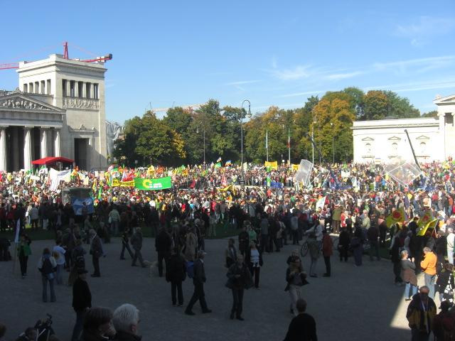 Anti-Atom-Demo in München