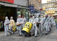 Mediathek - Strahlender Einzug in die Augsburger Innenstadt