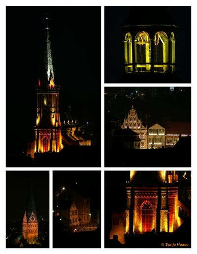 Lüneburger Kirchen erstrahlen im Lichterglanz 2006! Copyright Sonja Haase