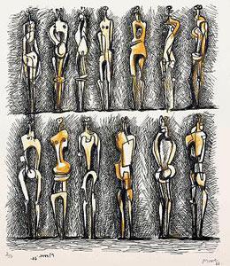 Cartel de la exposición Henry Moore