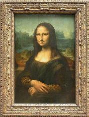 La Gioconda  Leonardo da Vinci, 1503-1506  Óleo sobre tabla  77 cm × 53 cm - Museo del Louvre