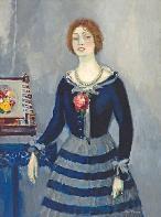 Retrato de Madame Desjardins de Kees Van Dongen. Cerca de un centenar de obras del pintor holandés Kees Van Dongen se exhiben en el Museo Picasso de Barcelona