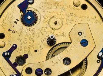 El reloj de oro de Abraham Lincoln contiene un mensaje secreto sobre el inicio de la Guerra Civil de Estados Unidos