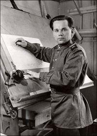 Mijaíl Kaláshnikov en 1949