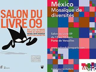 La literatura mexicana es este año la invitada de honor de la 29 edición del Salón del Libro de París