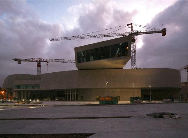 Museo de Arte y Arquitectura del XXI (MAXXI) en Roma proyectado por Zaha Hadid