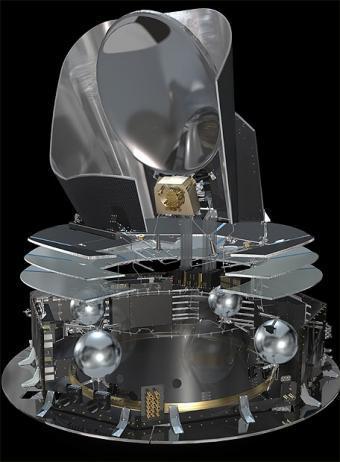 Sistema de enfriado del telescopio Planck