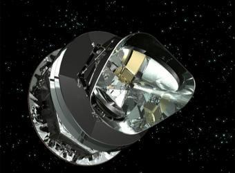 El telescopio Planck en el espacio