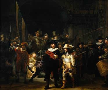 'Ronda de noche', de Rembrandt