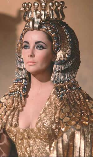 Elizabeth Taylor el rostro mítico de Cleopatra en la gran pantalla