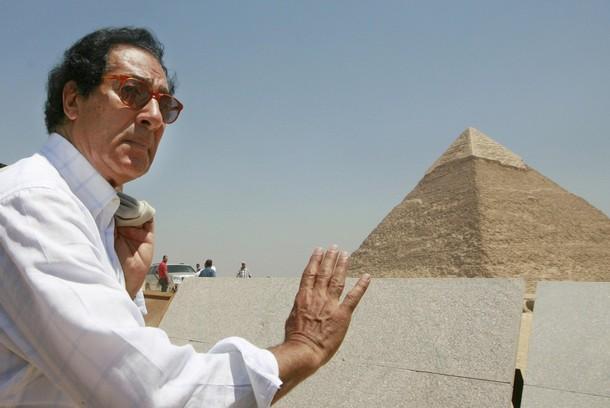 Faruk Hosni  Ministro de Cultura egipcio
