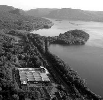 Fundación Dia Art a orillas del río Hudson en Beacon (Nueva York)