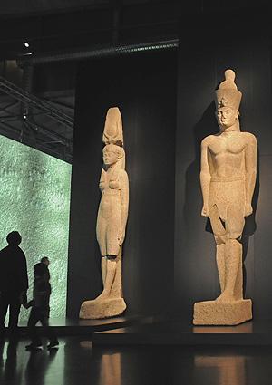 Estatuas colosales de la época Ptolemaica
