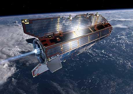 Satélite GOCE   Explorador de la Circulación Oceánica y de Gravedad