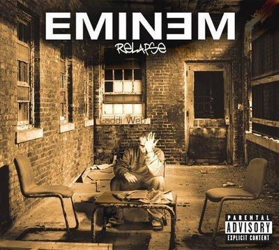 Relapse último disco de Eminem