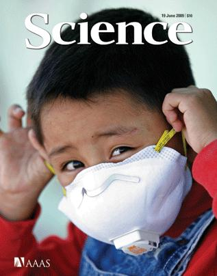 Portada de la revista Science Junio 2009