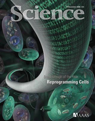 Portada de la revista SCIENCE del 19 de Diciembre