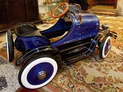 Una de las piezas del Museo del Juguete de Hojalata