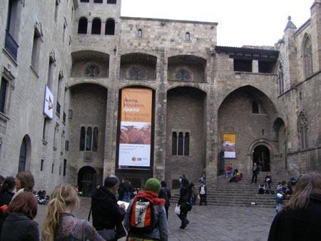 Conjunto Monumental de la Plaza del Rey del Museo de Historia de Barcelona (Muhba)