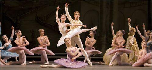 Alina Cojocaru y Johan Kobborg - Royal Ballet