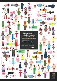 "Poster de la UNESCO ""Día Internacional de la Lengua Materna"""