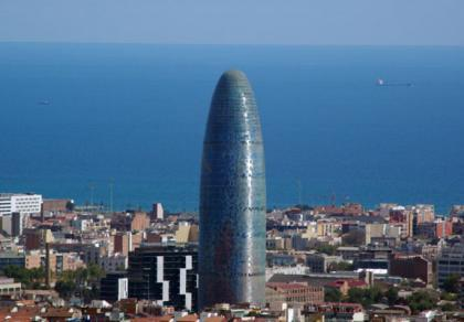 Torre Agbar de Jean Nouvel en Barcelona