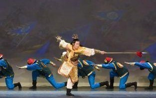 Tim Wu primer bailarín de la compañia Shen Yun