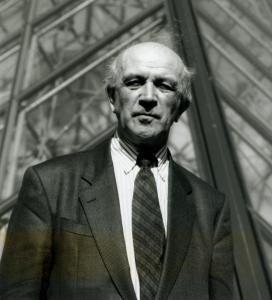 El historiador del arte y ex director del Museo del Louvre, Michel Laclotte