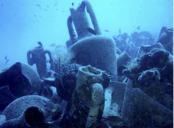 Resos del naufragio de Mazotos