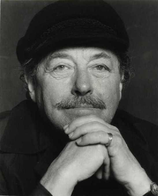 El escritor estadounidense Tennessee Williams