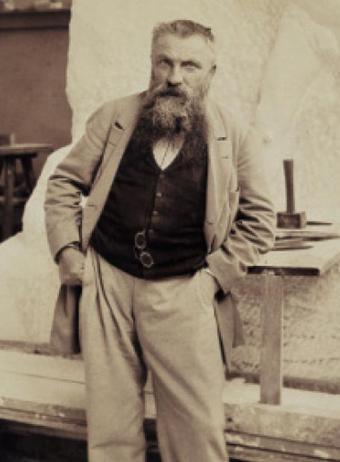 Fotografía de Auguste Rodin