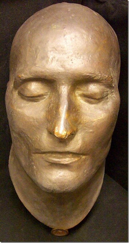 Máscara mortuoria de Napoleón