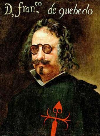 Retrato de Francisco Gómez de Quevedo y Villegas realizado por Juan Van der Hamen