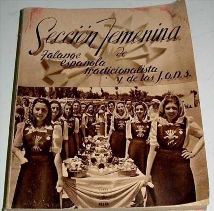 Libro de la Sección Femenina de 1940