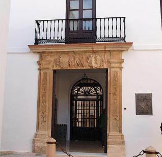 Fachada del Museo Joaquín Peinado