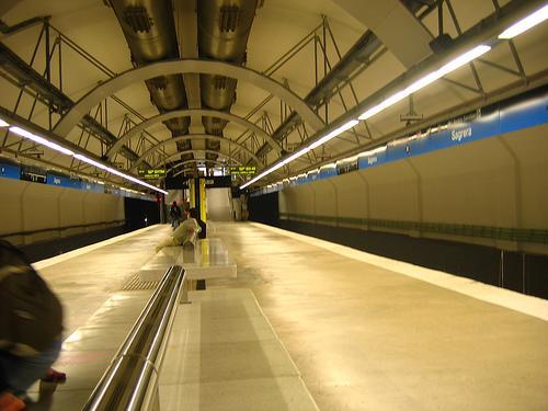 Estación de Metro Sagrera
