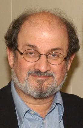 El escritor anglo-indio Salman Rushdie