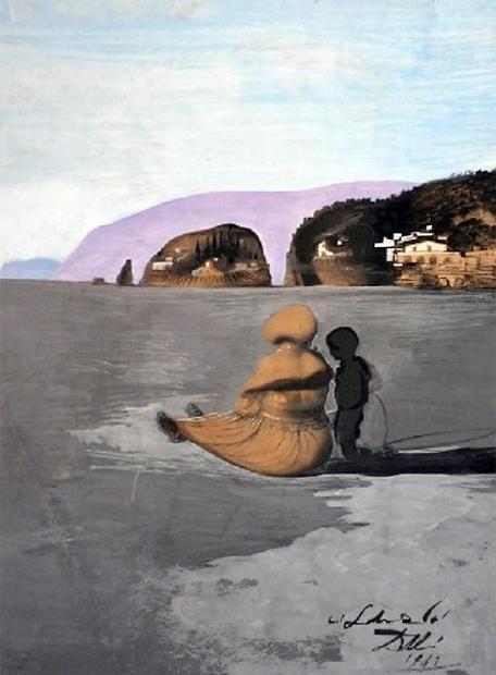 Adolescencia', el cuadro de Dalí robado del museo Scheringa