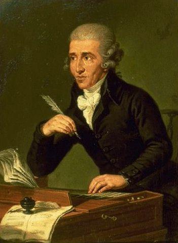El compositor austríaco Joseph Haydn