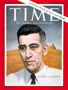Jerome D. Salinger en la portada de TIME