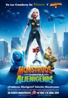 Monstruos contra alienígenas  Estreno  3 Abril