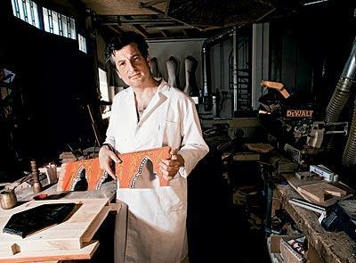 Paco Luis Martos, artesano especializado en artesonados mudéjares
