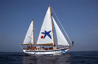 """El Barco científico """"Vell Mari"""" estudiará los niveles de CO2 de los mares españoles"""